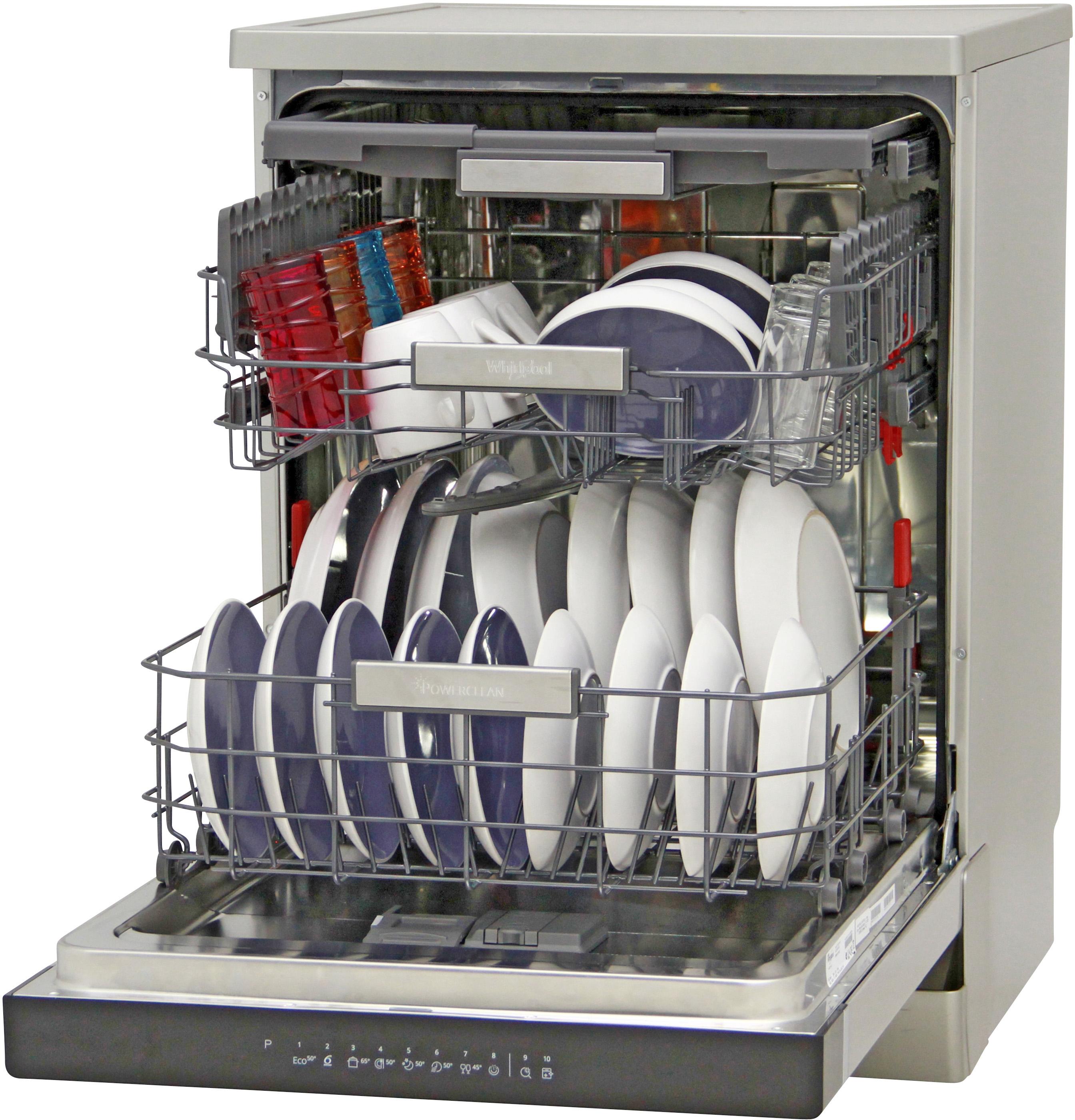 I dettagli del test sulla lavastoviglie WHIRLPOOL WFO 3T123PFX