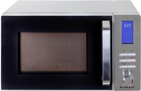 I dettagli del test sul forno a microonde SILVERCREST (LIDL) 304859