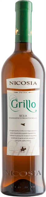 NICOSIA Grillo Sicilia DOC Bianco 2018 | Classifica vini | Altroconsumo