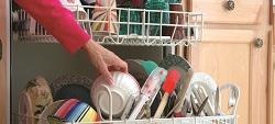 Sale per lavastoviglie: basta quello da cucina