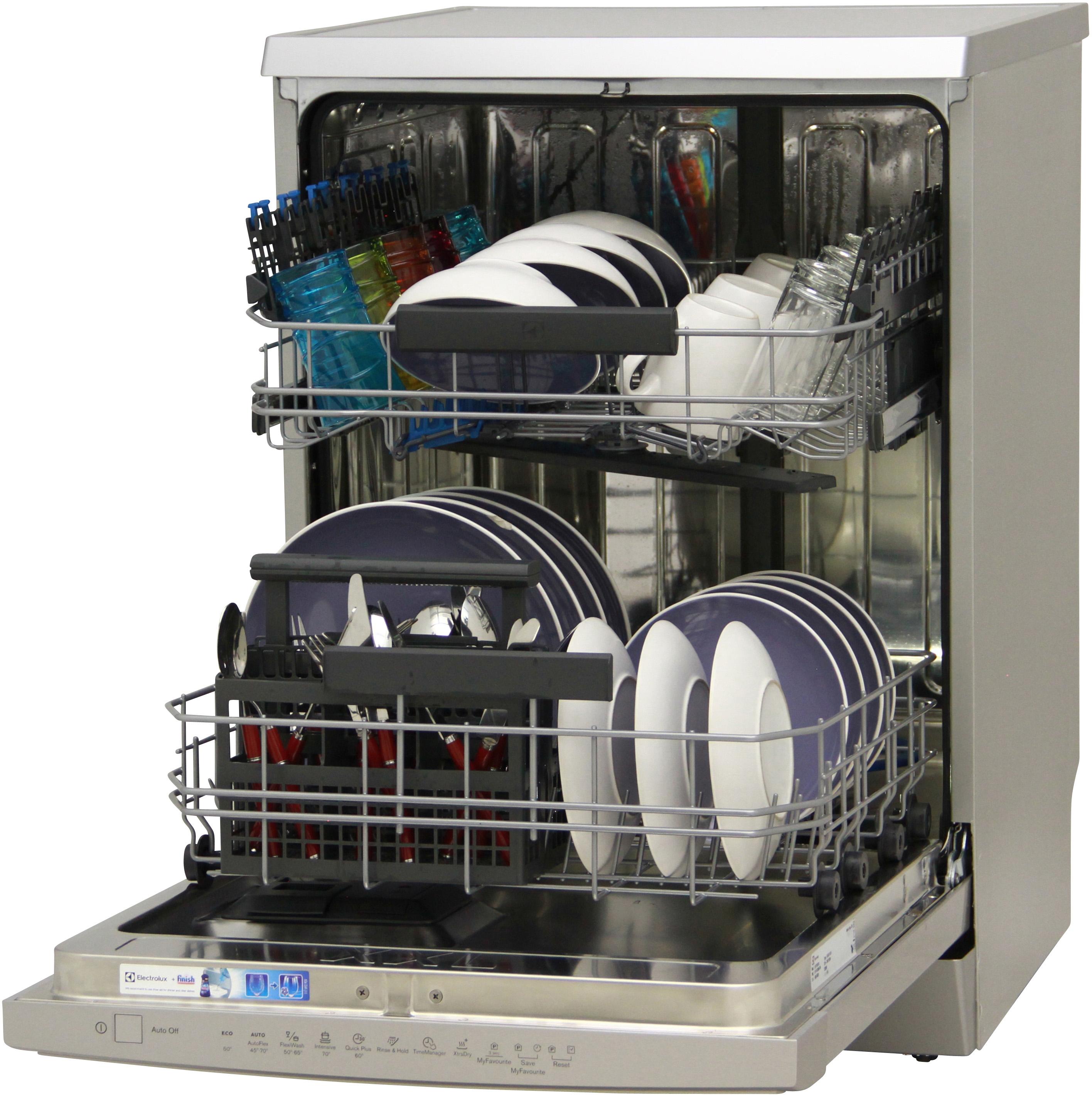 I dettagli del test sulla lavastoviglie ELECTROLUX ESF7530ROX