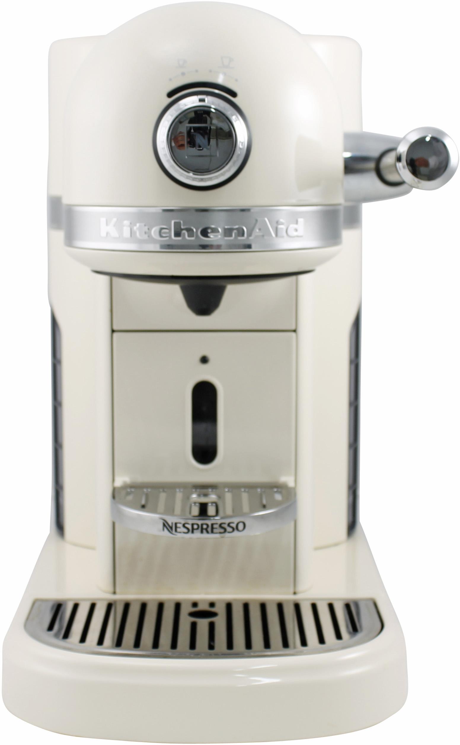 I dettagli del test sulla macchina per il caffè KITCHENAID Nespresso ...