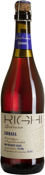 RIGHI LAMBRUSCO DI SORBARA DOC 100% RIGHI VINO FRIZZANTE SECCO | Classifica vini: Risultati del test | Altroconsumo