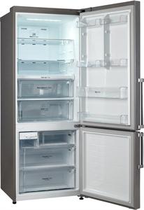 I dettagli del test sul frigorifero LG GBB548NSQZB