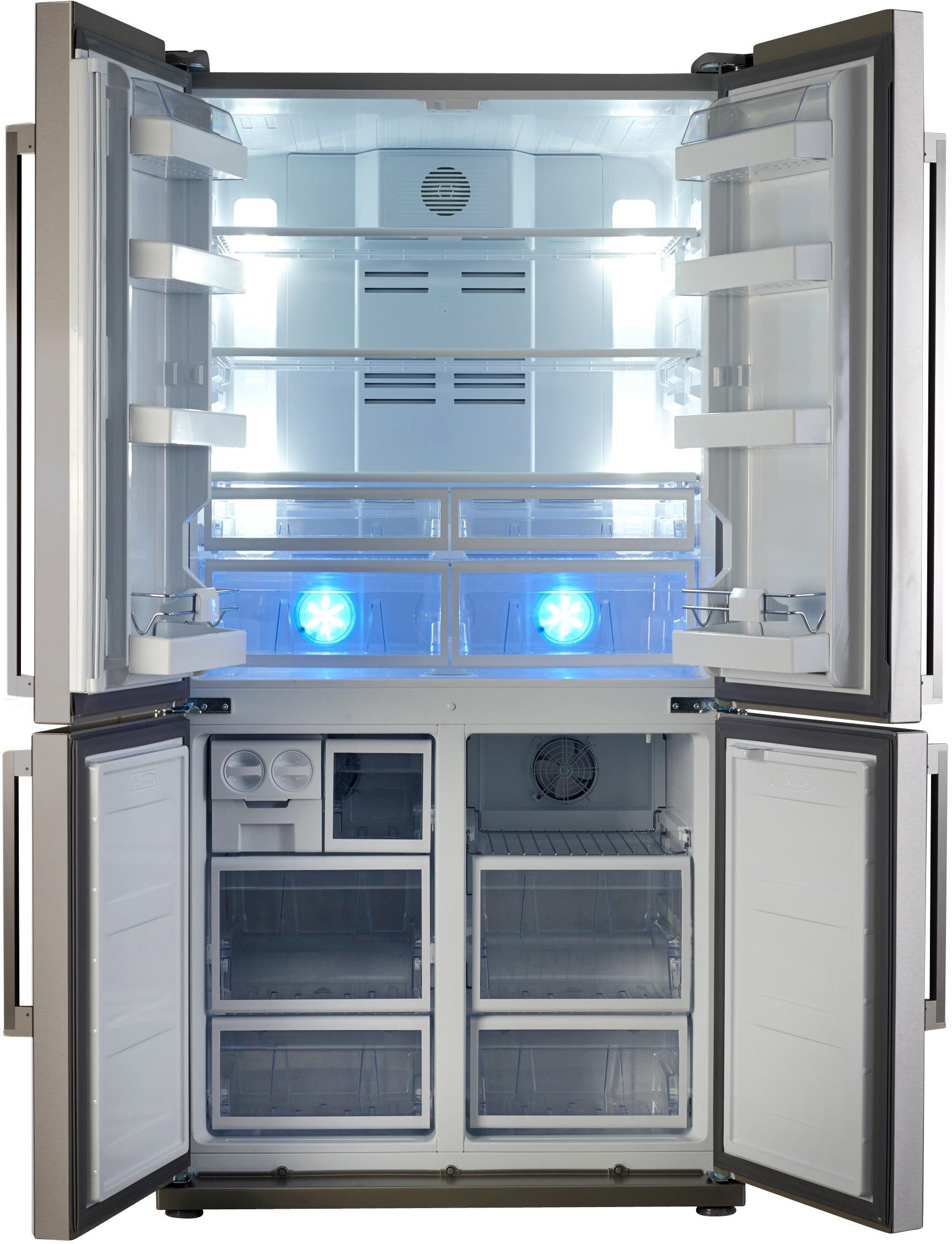 I dettagli del test sul frigorifero SMEG FQ60XPE