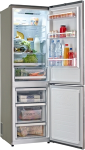 I dettagli del test sul frigorifero LG GBB59PZGFS