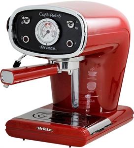 I dettagli del test sulla macchina per il caffè ARIETE CAFE RETRO 1388