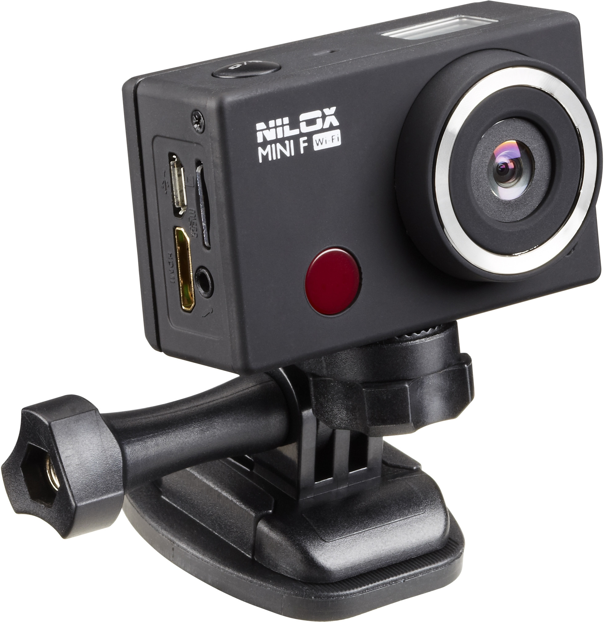 i dettagli del test sull 39 action cam nilox mini f wi fi. Black Bedroom Furniture Sets. Home Design Ideas